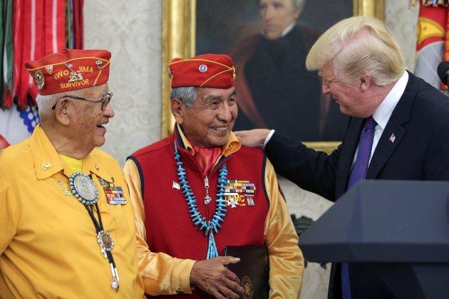 Trump indígenes EFE