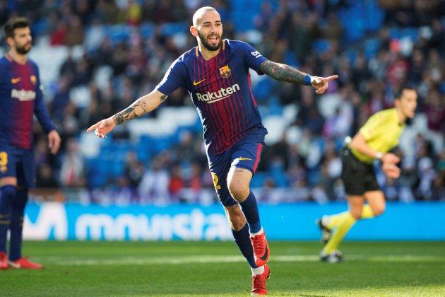 Aleix Vidal gol Madrid Barça EFE
