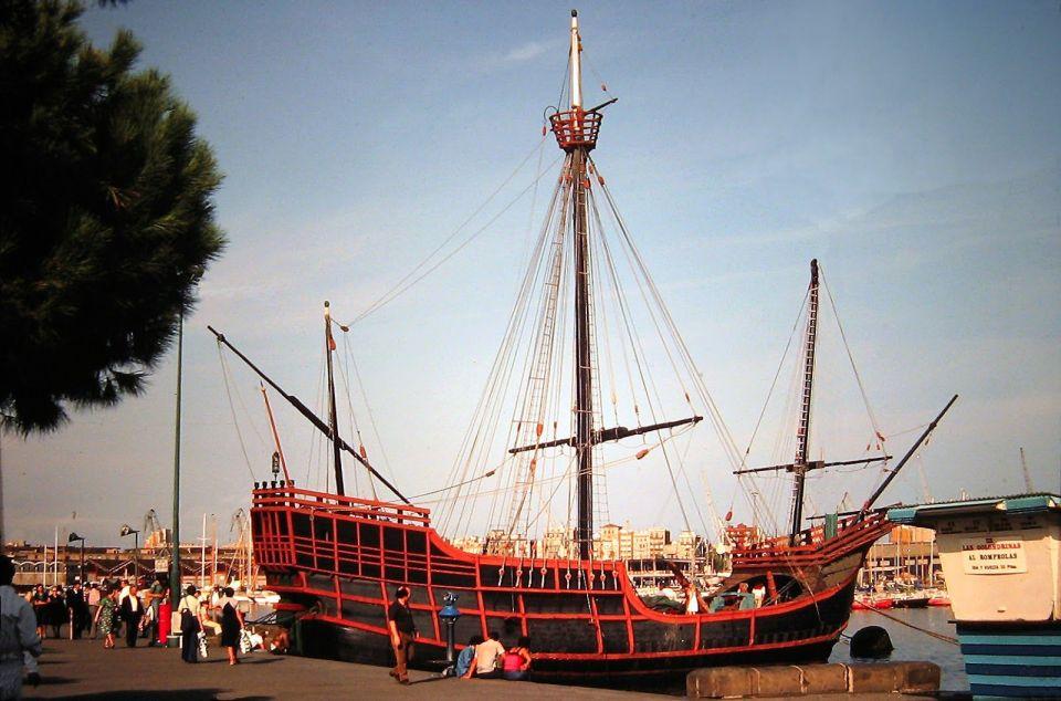 Qué se hizo, de la carabela de Colón?