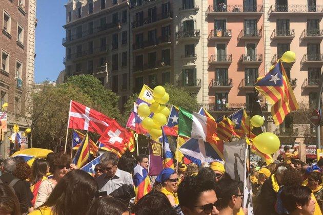 banderes mani presos albert Llobet