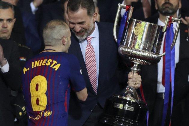 Copa del Rei corbata EFE