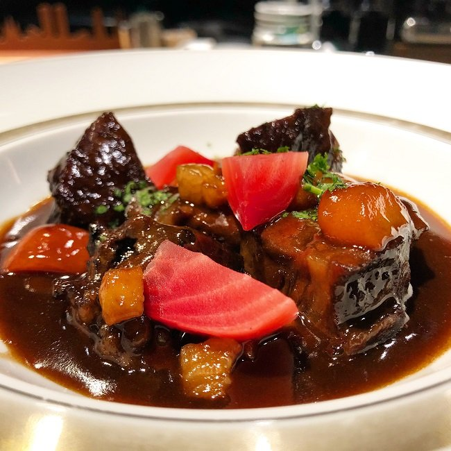 Beef Bourgignone
