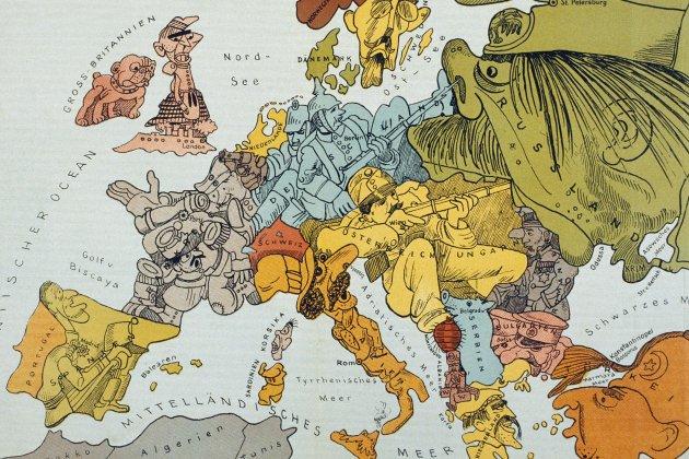 Dibuix mapa Europa