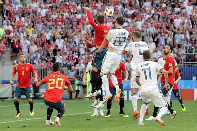 Piqué Espanya Rússia Mundial 2018 Efe