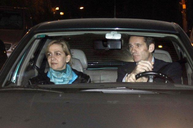urdangarin cristina cotxe gtres