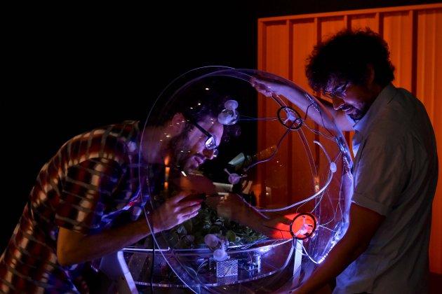 robots instal·lacio planta obra social caixa
