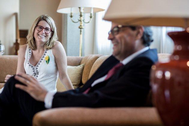 quim torra president generalitat catalunya seguiment elsa artadi - Carles Palacio