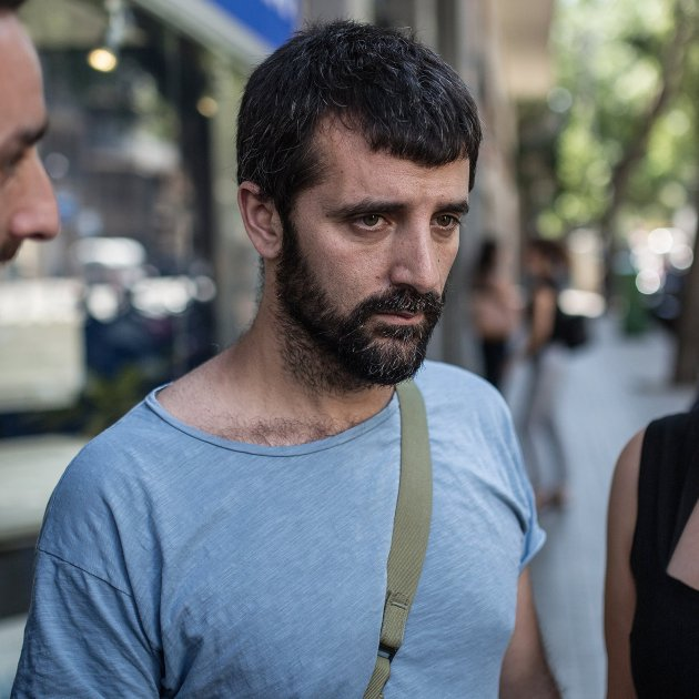 jordi borras carla valls advocada declaracio comissaria les corts barcelona agresio feixista - Carles Palacio