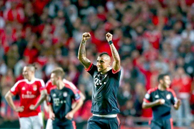 Vidal Arturo Bayern Benfica EFE