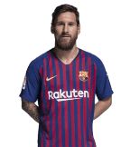 1x1 Leo Messi 2018 2019
