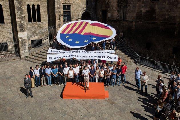 ines arrimadas albert ribera 11 setembre (bona qualitat) - Carles Palacio