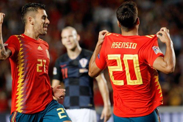 Marco Asensio Dani Ceballos Espanya Croacia EFE