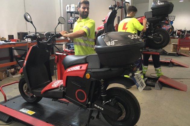 taller de moto Scoot / G.R