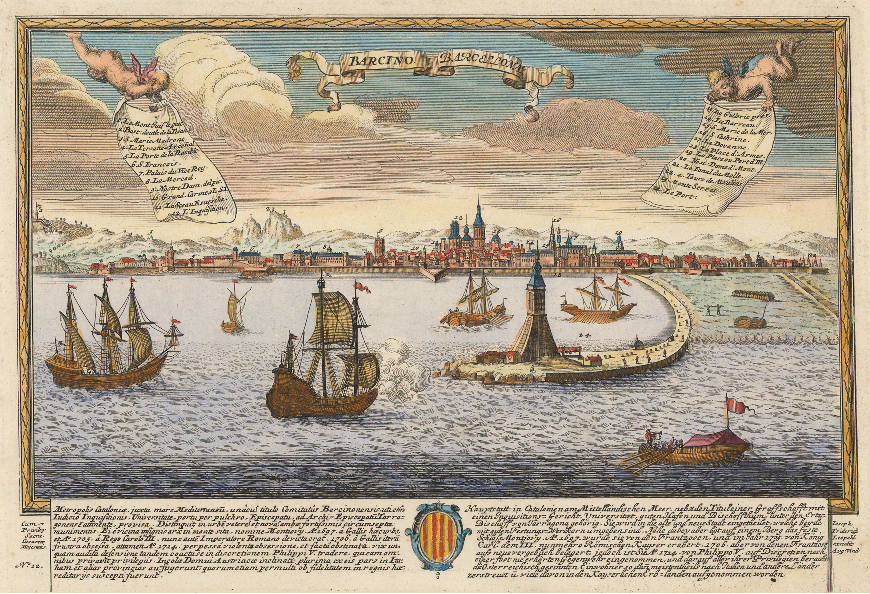 Gravat de Barcelona (1720). Font Viquipèdia