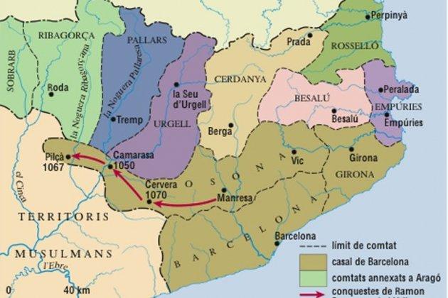 Comtats independents catalans. Segle XI