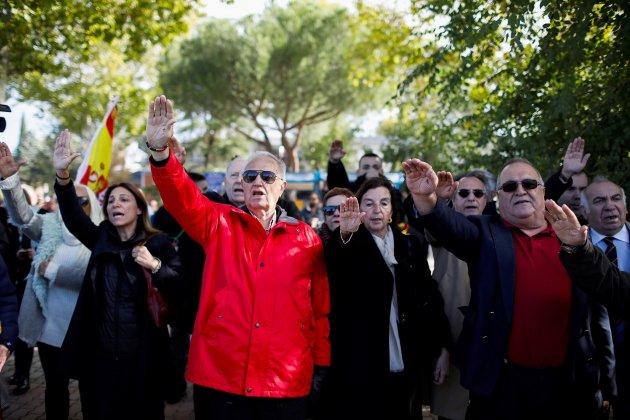 Exhumació Franco franquistes Mingorrubio EFE