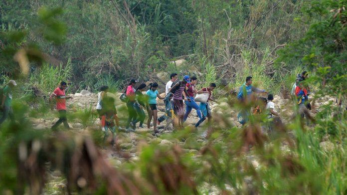 Trochas: El peligroso abismo fronterizo de regreso a Venezuela