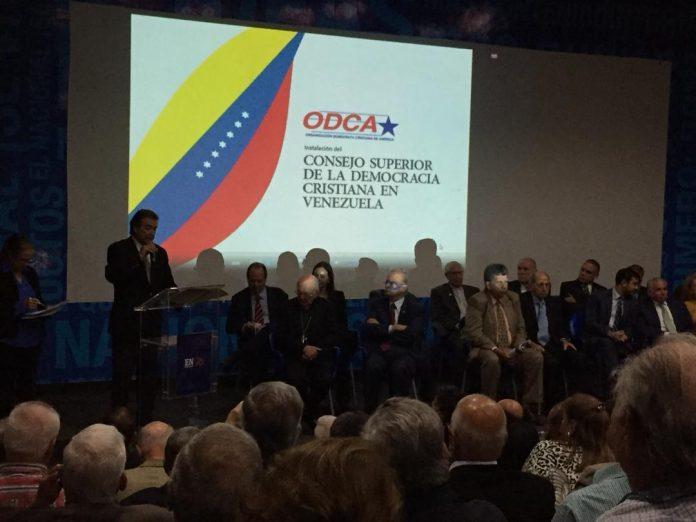 Consejo Superior de la Democracia Cristiana rechaza el fraude parlamentario del régimen y ataques contra partidos políticos