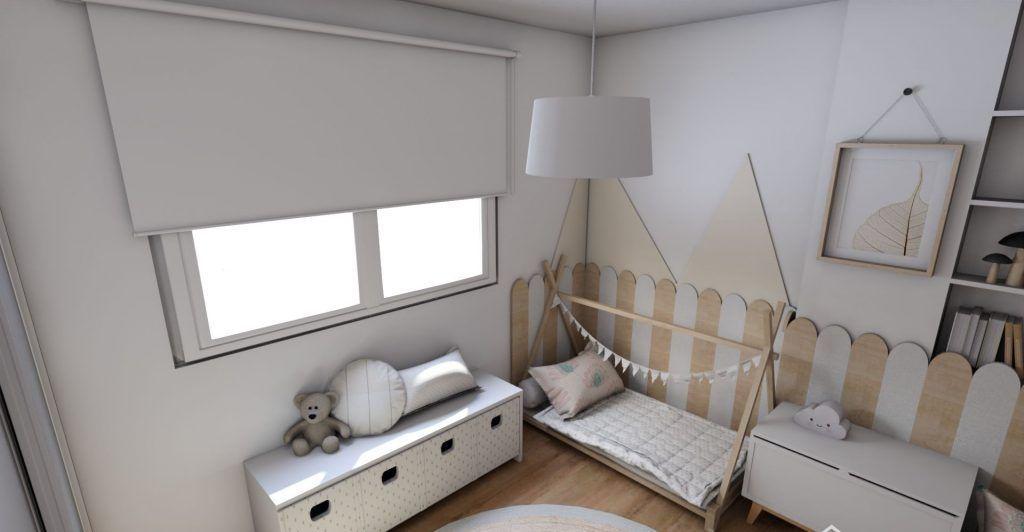 Habitación de estilo Montessori