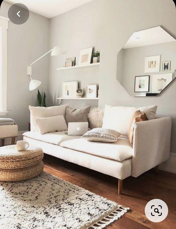 Muebles con varias funciones , son la mejor opción para salones pequeños
