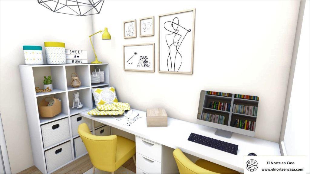 Decorar un cuarto de costura con Ikea
