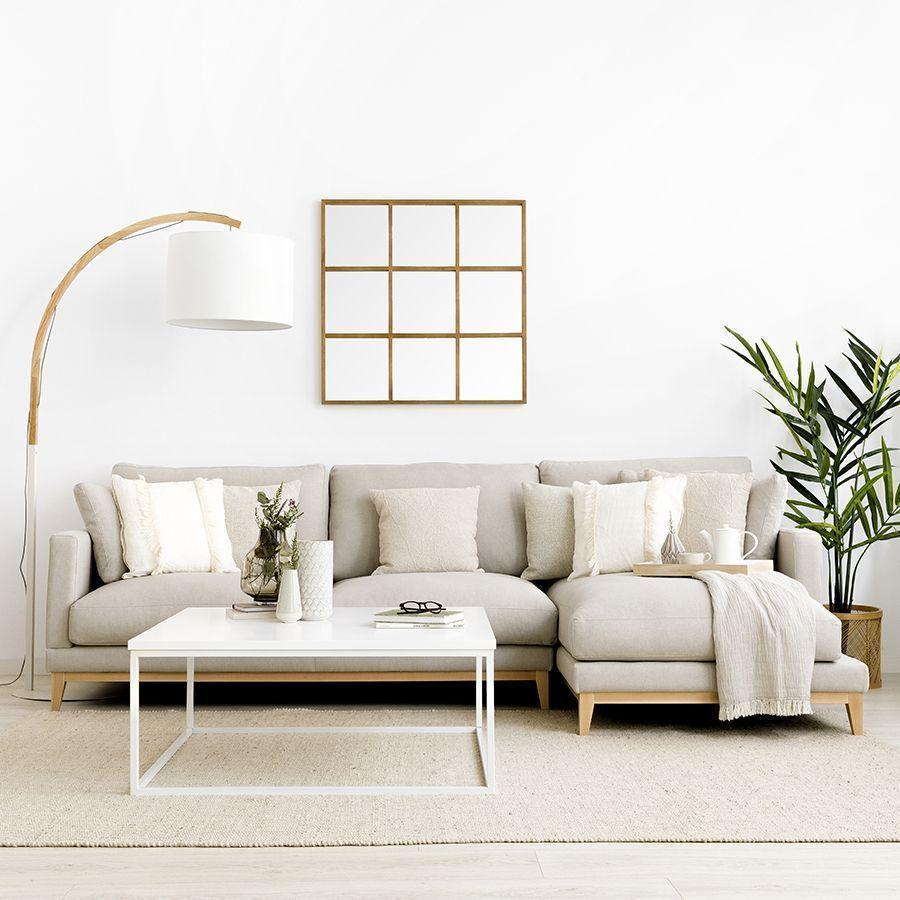 sofá de estilo nórdico