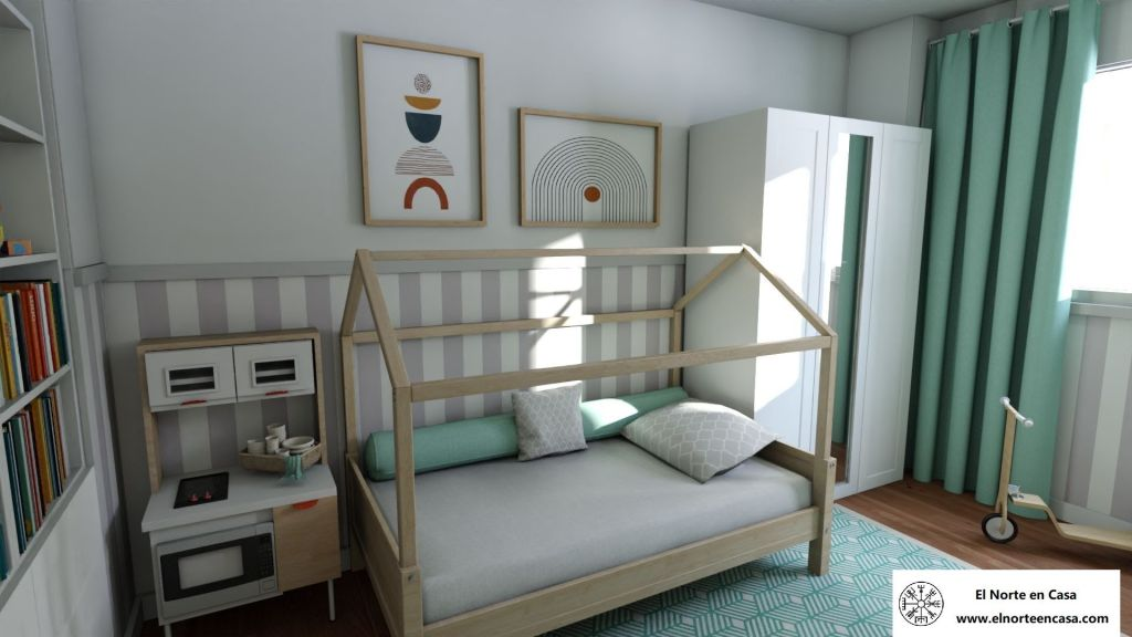 dormitorio casita