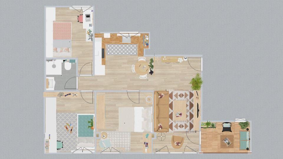 Plano piso reformado