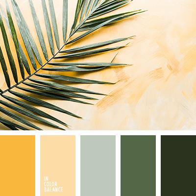 paleta de colores naturaleza