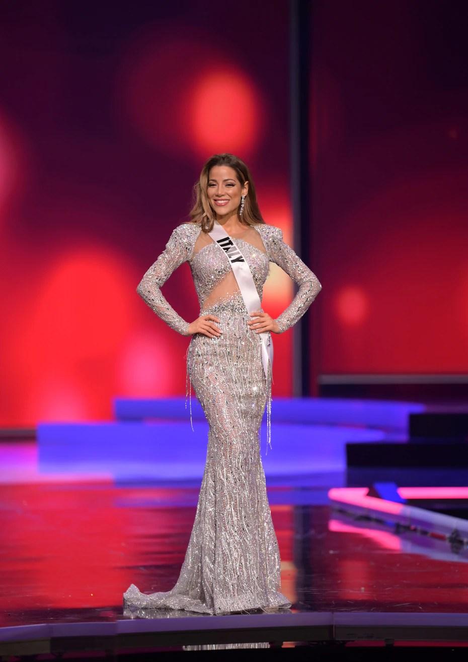 Viviana Vizzini, Miss Universe Italia.