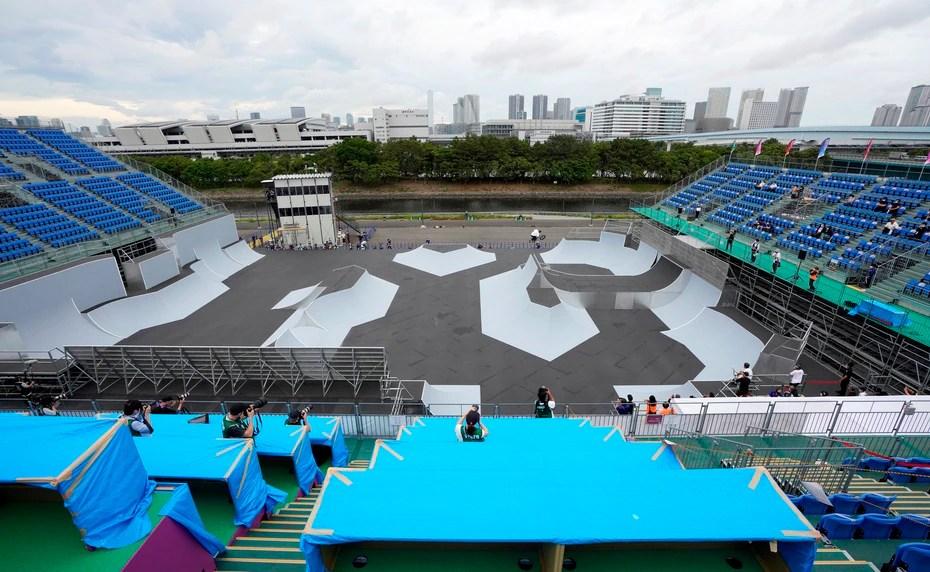 Ariake Urban Sports Park en Tokio, donde se disputarán las pruebas de BMX, el BMX de estilo libre y el Skateboarding.