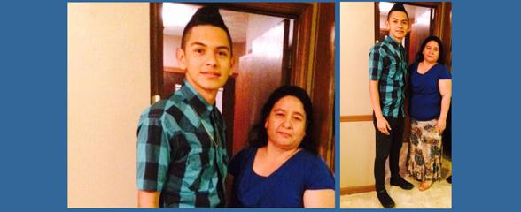 Margarita Reyes y su hijo José Duván Reyes fueron arrestados en Norcross.