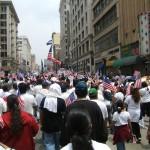 Miles de estudiantes han participado en las manifestaciones por los derechos de los inmigrantes en Los Ángeles.