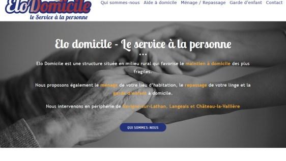 Le site d'Elo Domicile fait peau neuve