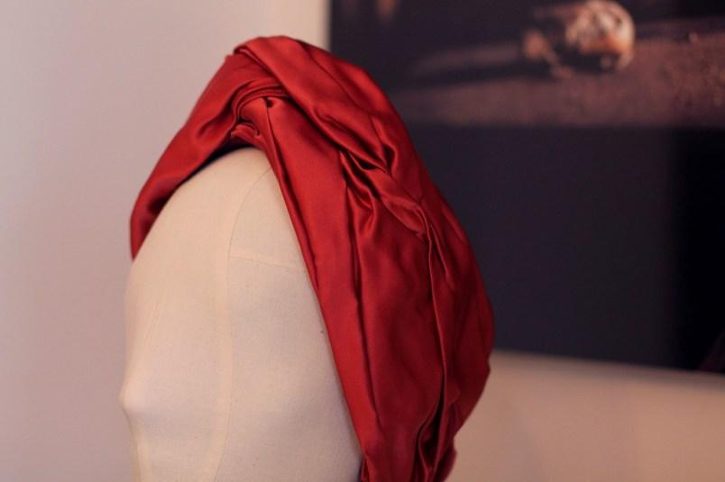 turban en soie