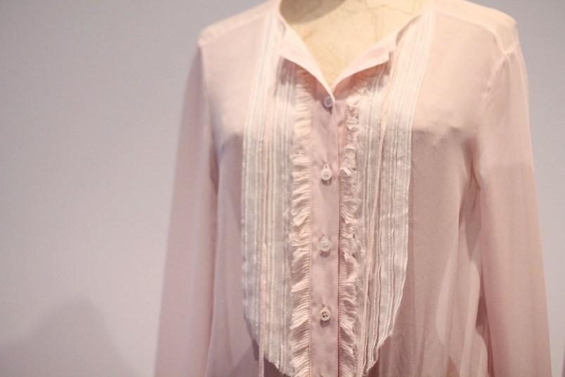 blouse rose poudré