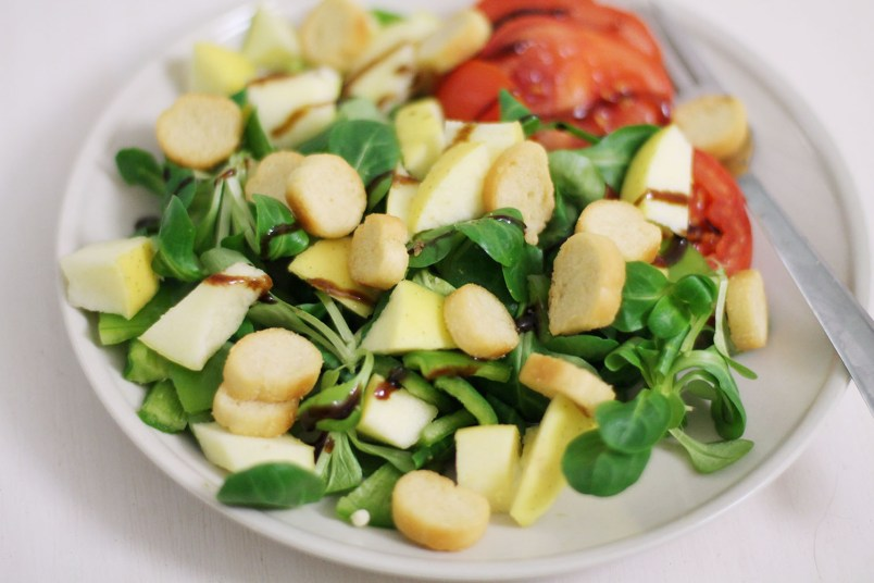 salade pomme tomate