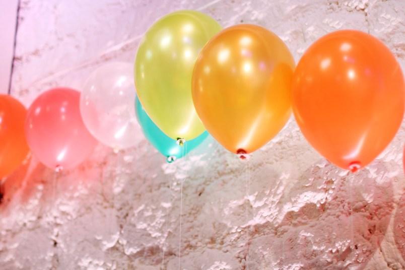 ballons colores