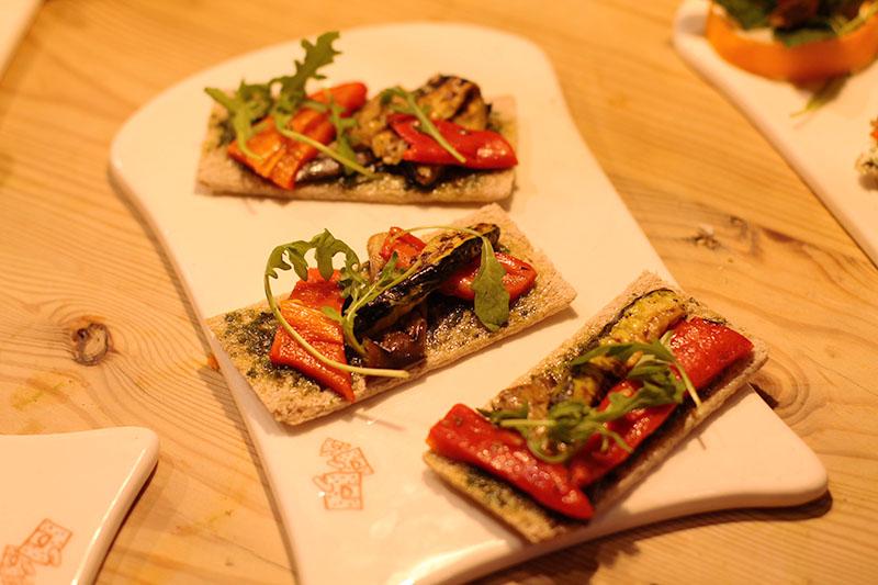tartines provencales legumes