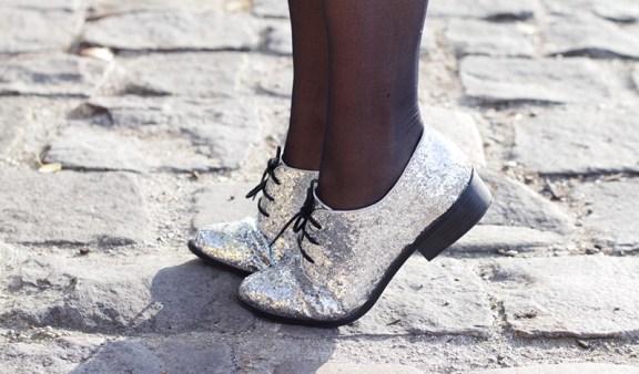 chaussures a paillettes