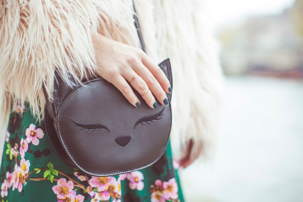 sac tête de chat
