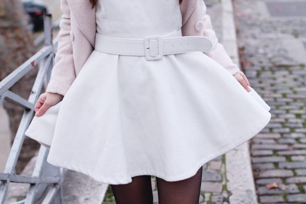 robe blanc cassé
