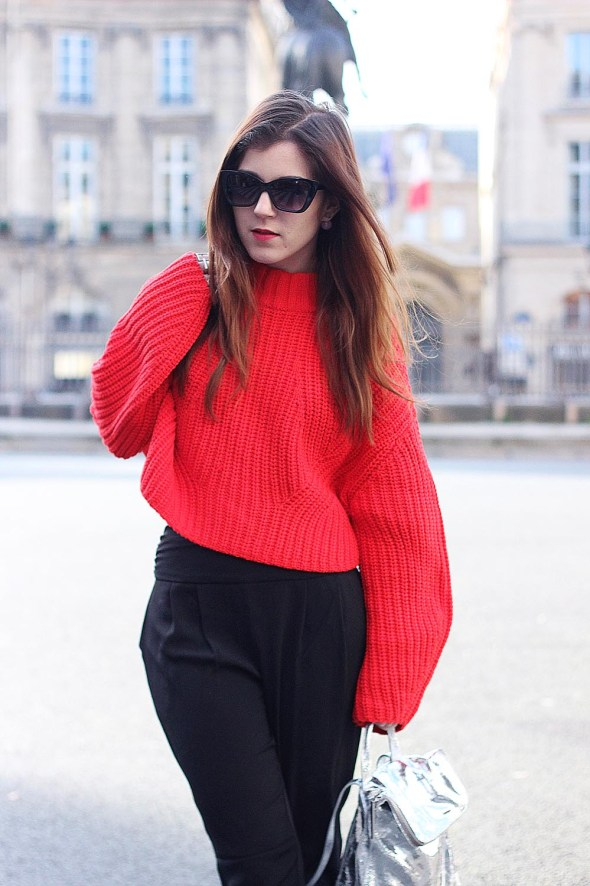 Pull rouge H&M