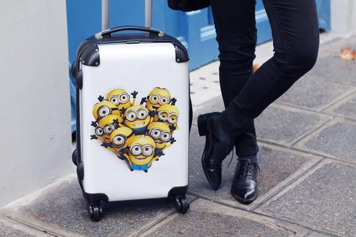 derbies aldo, valise minions