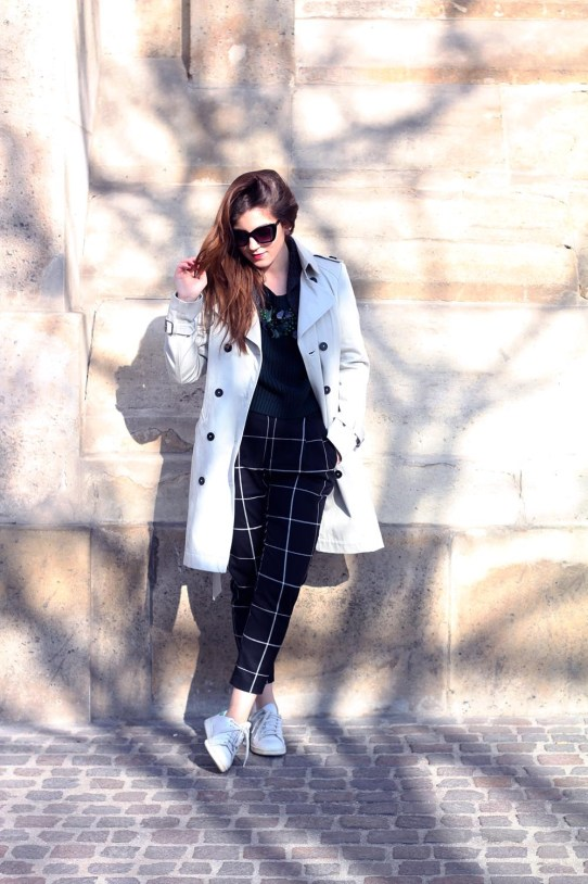 trench femme