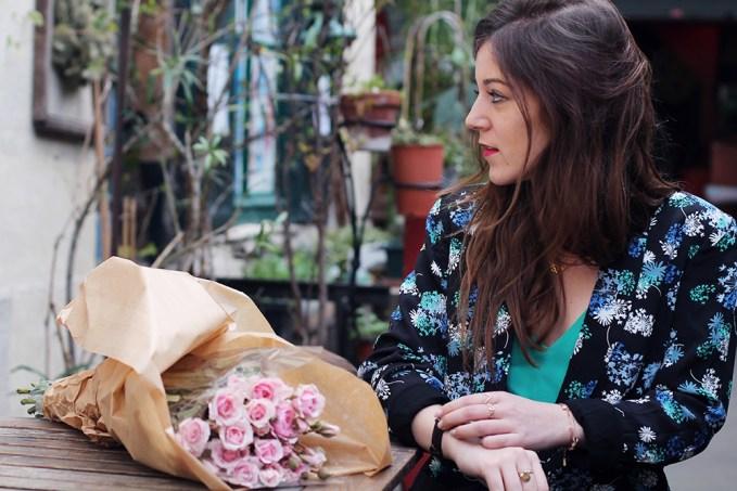 veste fleurs
