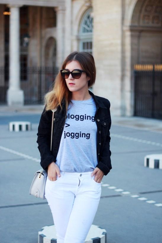 blogging jogging