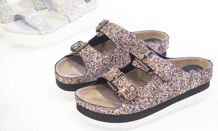 sandales glitters