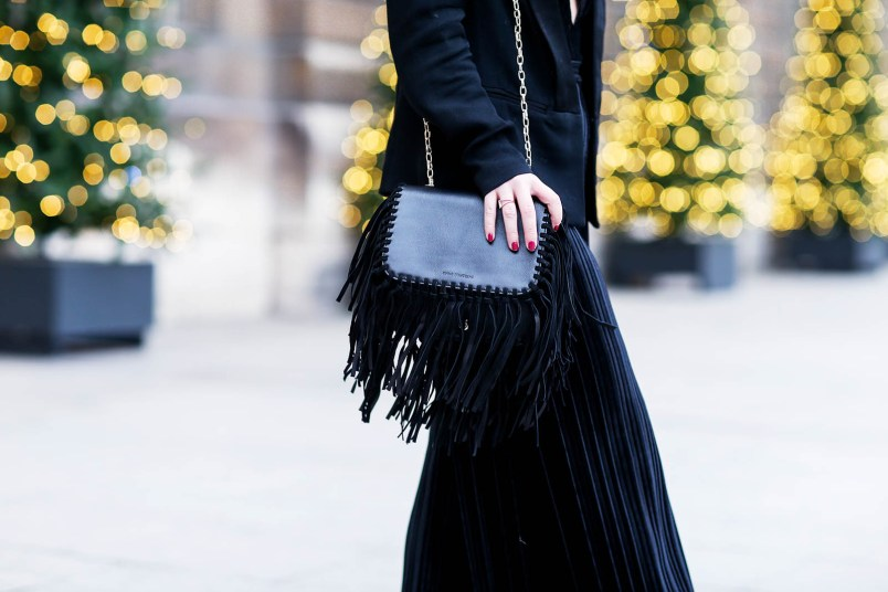 anne fontaine fringed bag