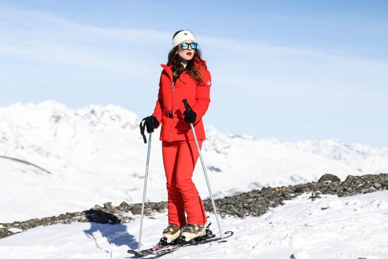 Shooting ski